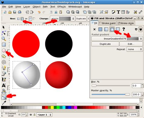 tutorial inkscape 3d nicu s how to how to use inkscape s new blur filter use