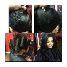 sew in with no edges full sew in no leave out client is bald around edges and