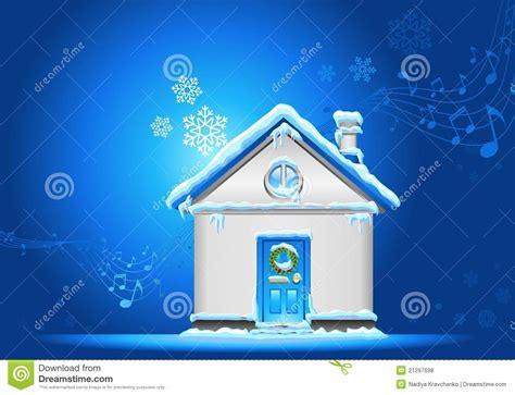 christmas house background royalty  stock  image