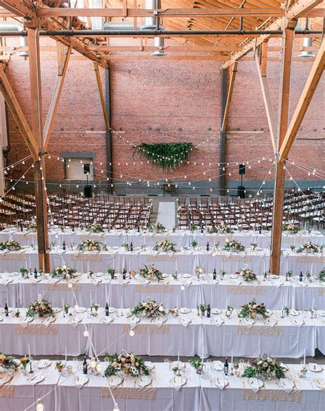 Wedding Decorations Downtown Los Angeles by Los Angeles Warehouse Wedding Jonathan