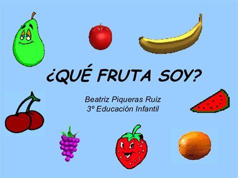 rimas con frutas rimas de frutas imagui