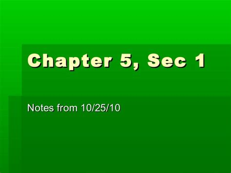 chapter 5 section 1 physical science chapter 5 sec 1