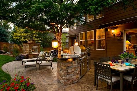 backyard steakhouse backyard landscaping parker co photo gallery