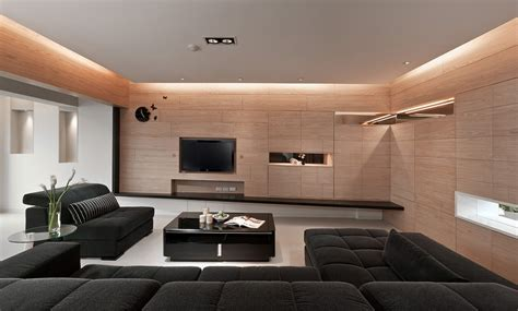 Center Stage Interiors by 4 Sleek Interiors Where Wood Takes Center Stage