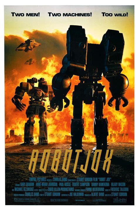 film robot tahun 1990 an film reviews from the cosmic catacombs robot jox 1990