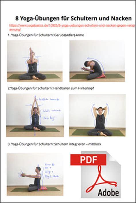 Nacken Schulter by 8 220 Bungen F 252 R Schultern Und Nacken Gegen Verspannung