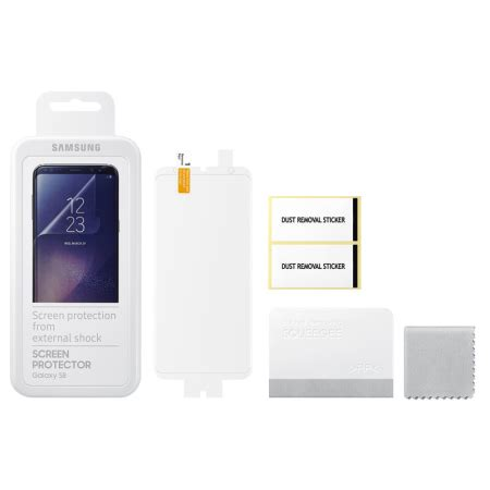 Samsung Galaxy S8 Screen Protector Cover Original official samsung galaxy s8 screen protector pack
