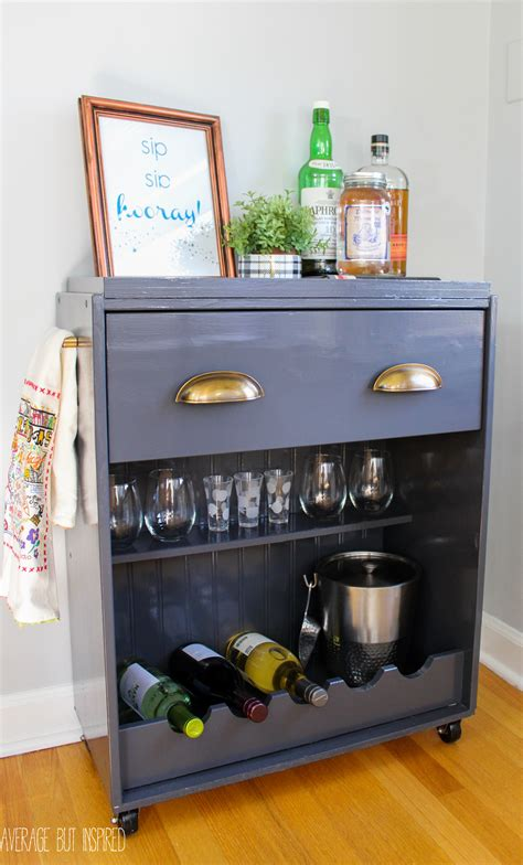 ikea cart hack ikea rast hack a dresser becomes a bar cart