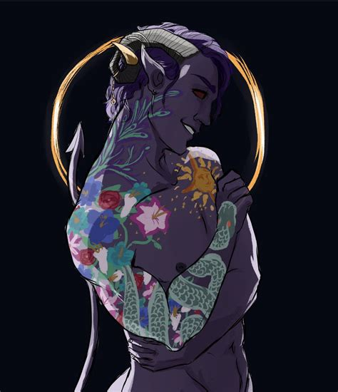 fjord x mollymauk molly tattoos the mighty nein critical role critical