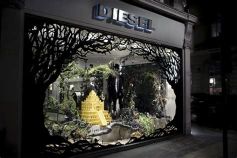 most impressive 3 d chistmas display 16 wonderful window display designs creative bloq