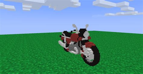 minecraft motorcycle project bicycle and motorcycle scenery mine imator forums