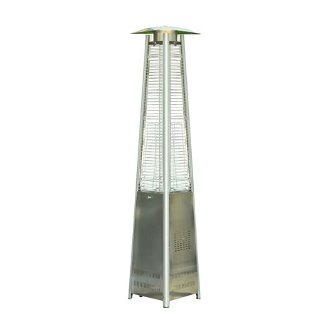 pyramid patio heater with outsunny 90 quot stainless steel pyramid patio heater with