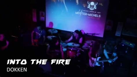 into the fire dokken dokken into the fire by alex meister alec michels