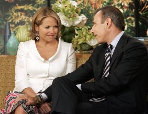 katie couric daughters age matt lauer made lewd comments to meredith vieira katie