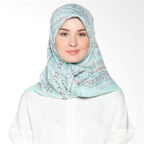 Elzatta Jilbab Segiempat jual elzatta frieda scarf jilbab segiempat light green