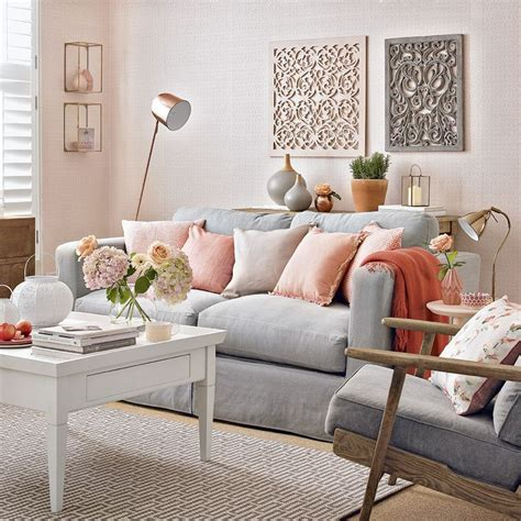 modern grey living room dgmagnets modern peach and grey living room with fretwork panels