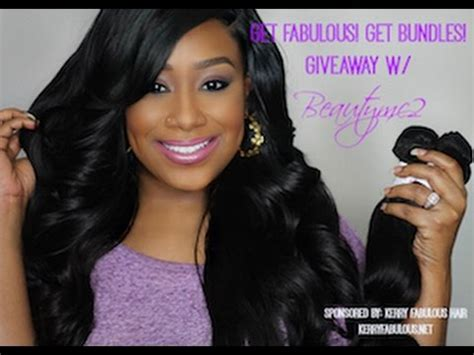 Free Brazilian Hair Giveaway - who wants free bundles giveaway w kerry fabulous hair youtube