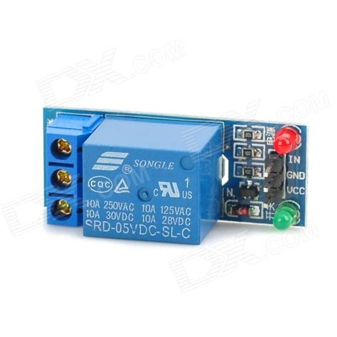 Relay Module Dc 5v 1 Channel High Trigger 1 channel 5v low level trigger relay module for arduino works with official arduino boards