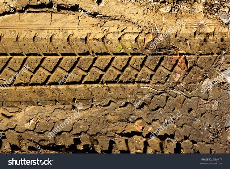 tread pattern en français tyre tread pattern in mud stock photo 2088477 shutterstock