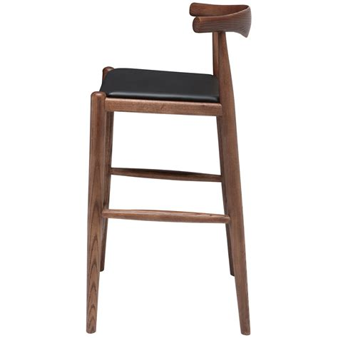 20 inch height stool maja walnut counter stool nuevo counter height 18 to 26