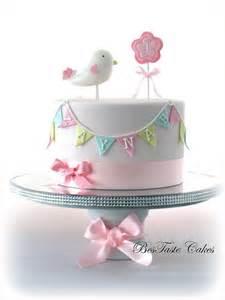 5 tortas con pajaritos todo bonito