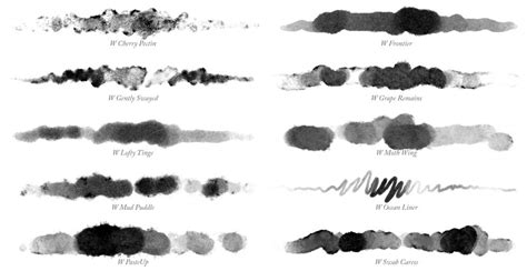 photoshop brushes waters 01 watercolor brushes for photoshop grutbrushes