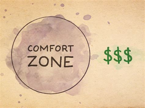 outside of your comfort zone 012 outside of your comfort zone is where you make money