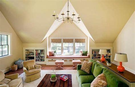 beautiful attic living room design ideas rilane