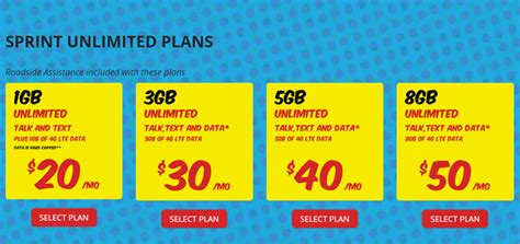 sprint home phone plans rok mobile increases data on all sprint plans offers 49