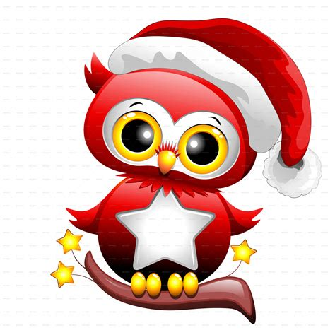 christmas owl pictures baby owl santa by bluedarkat graphicriver