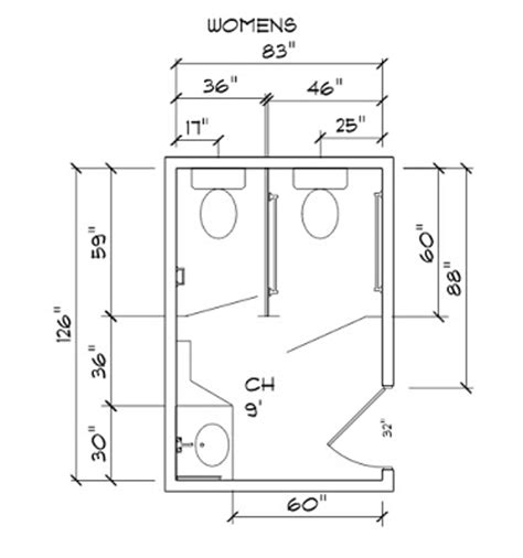 dimensions of a bathroom stall i m renovating my office does the existing bathroom need