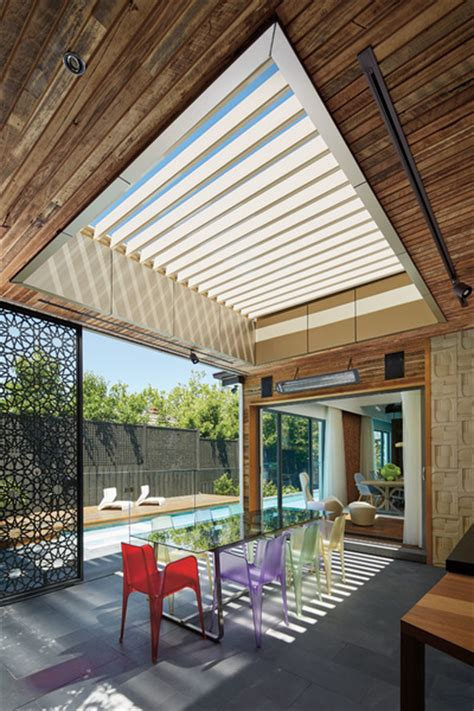 in style patios and decks sunroof opening roof patios