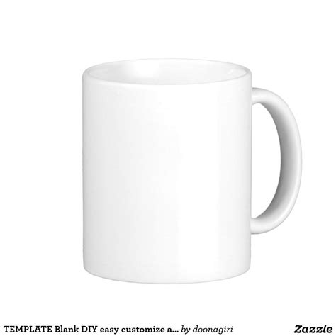 Template Blank Diy Easy Customize Add Text Photo Coffee Mug T Shirt Product Blanks Coffee Mug Template