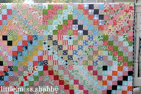 The Quilt by Scrappy Trip Around The World Coriander Quilts