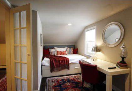 bett dachschräge schlafzimmer einrichtung modern