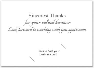 Thank You Note Quotes Business Thank You Card Creative Design Custom Thank You Cards For Business Photo Thank You Cards