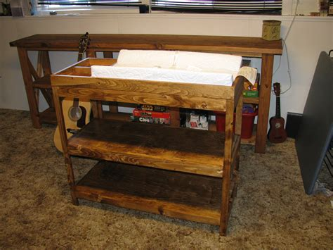 Simple Changing Table White Simple Changing Table Diy Projects