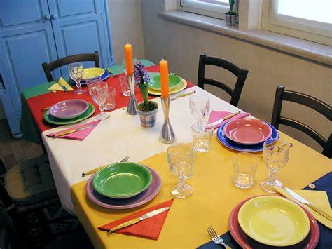 runner per la tavola tovagliette e runner per la tavola a colori cose di casa