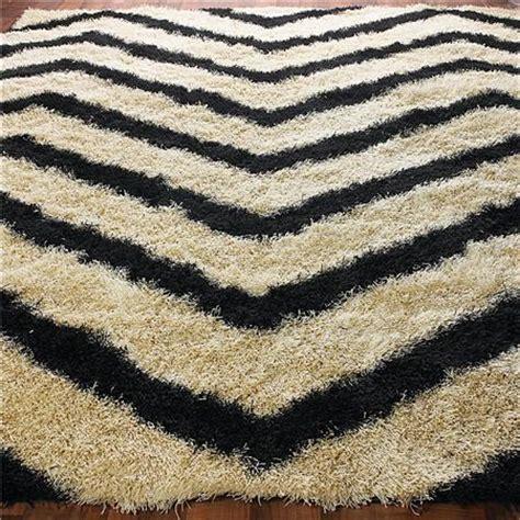 chevron stripe rug black chevron stripe shag rug