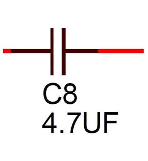 symbol for bipolar capacitor 4 7uf 16v non polar capacitor