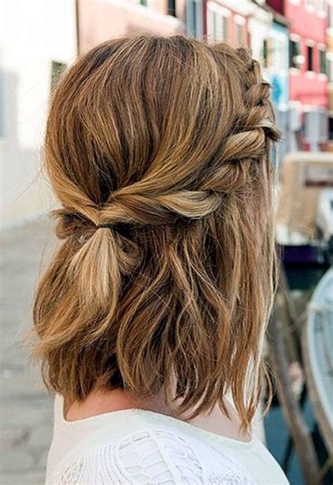 hairstyles for medium length hair how to braids to loose chignons 10 easy bridal hairstyles for