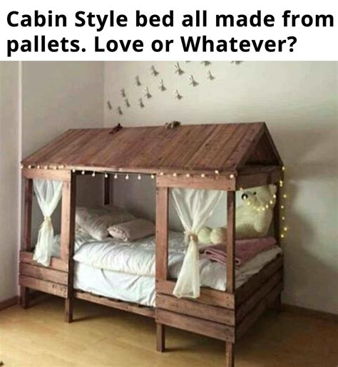 Handmade Toddler Bed - this idea for a toddler bed looks simple enough to