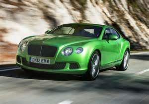Green Bentley Gt Bentley Continental Gt Green Colour Car Pictures Images