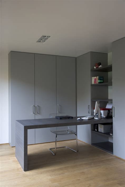Bureau In Kastenwand by Wandkast Woonkamer Bureau