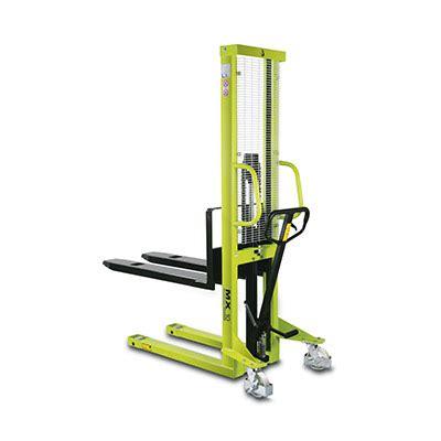 Liftrer Stacker Manual 1000 pallet stacker 1000kg pramac mx 1016 llm handling