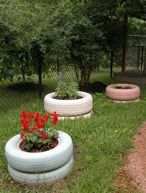 Garten Tipps by Kreative Gartentipps Pflanzencontainer Aus Alten Autoreifen