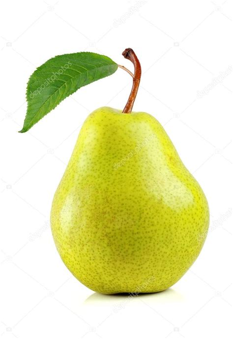 birne le pearpear fond blanc poire isol 233 fruits poire poire