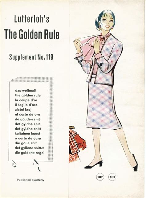 the golden rule pattern drafting system 407 best lutterloh like patterns images on pinterest