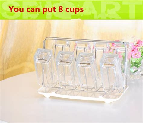 Stainless Steel Tea Cup Stand Holder Water Glass Mug
