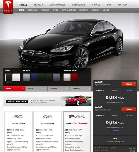 Tesla Orders The Journey To Owning The Tesla Model S